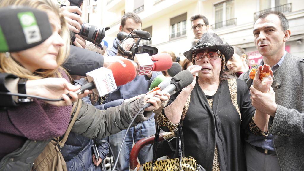 Marujita Díaz se dirige a la casa de Sara Montiel