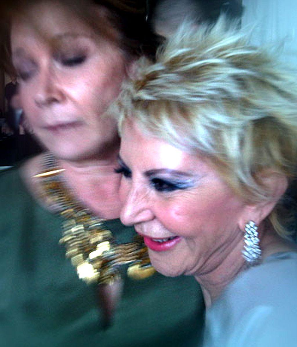 Telecinco.es, testigo del acercamiento de Karmele Marchante y Mila Ximénez