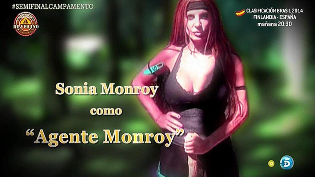 Sonia es 'La agente Monroy' y Noemí se convierte en Tom Cruise