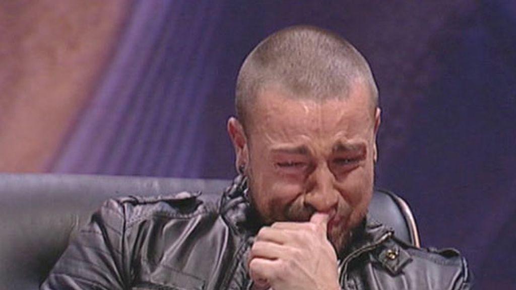Las lágrimas más sinceras de Rafa Mora