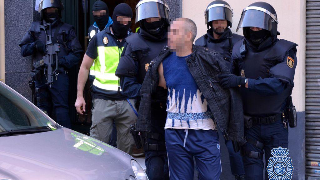 La Policía ha desmantelado en Madrid una red de captación de terroristas para Siria e Irak