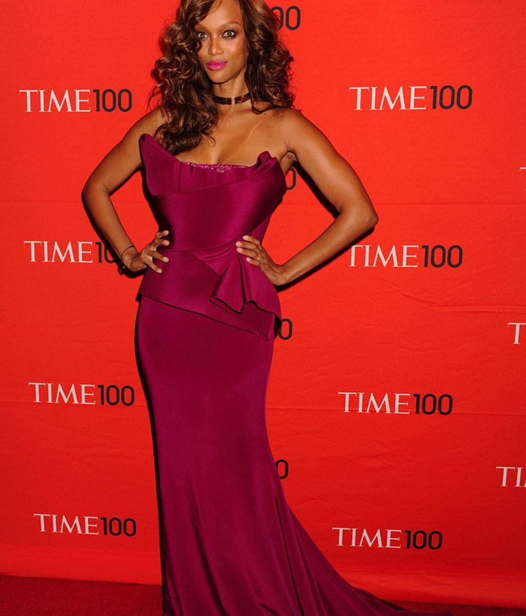 Rihanna y Tyra Banks con un vestido parecidísimo en el centenario de TIME