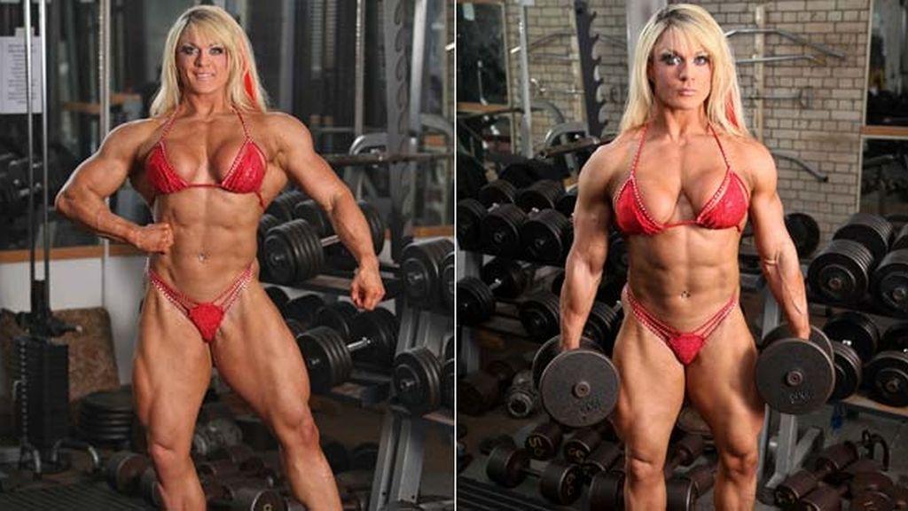 De anoréxica a campeona de culturismo