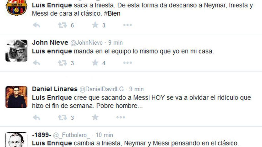 Barcelona tuits