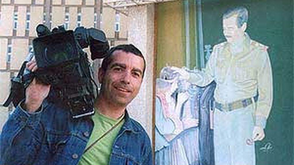 El cámara de Telecinco, José Couso, un Crimen de Guerra que tras cinco años, sigue impune. Foto:EFE