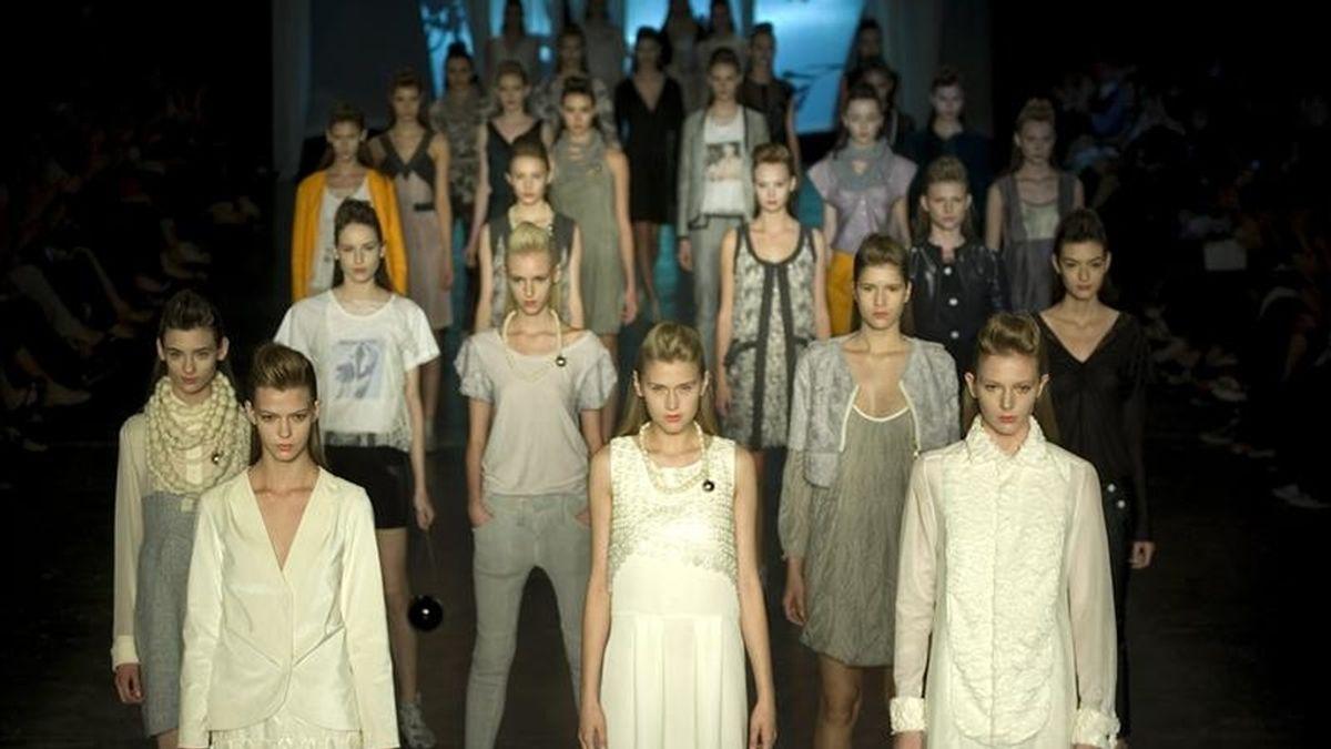 El Río-à-Porter, salón de negocios de moda y diseño reúne desde hoy y hasta el próximo jueves a compradores interesados en las creaciones de marcas nacionales y extranjeras para la próxima temporada de invierno austral. EFE/Archivo