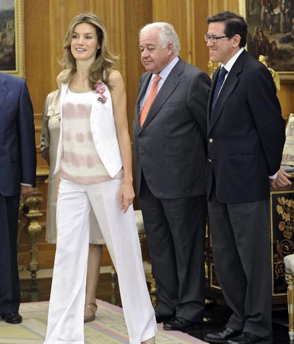 La audiencia veraniega de los Príncipes de Asturias