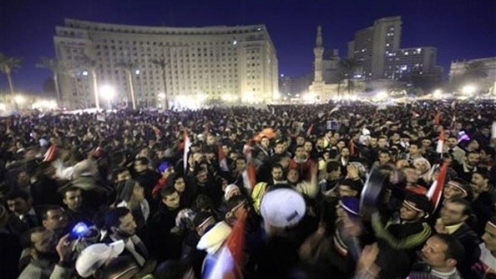 Mubarak prepara su salida