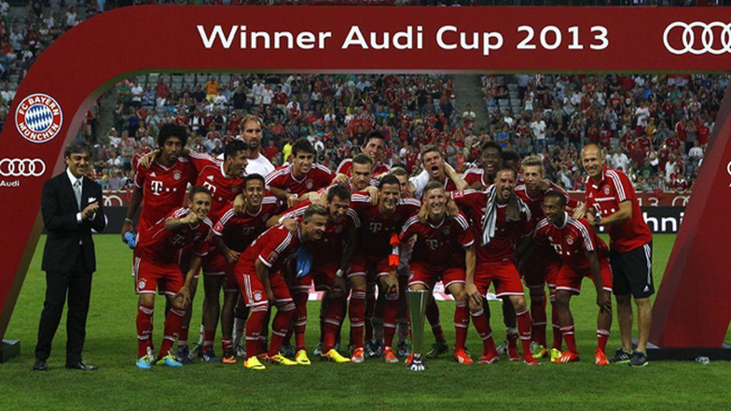 El Bayern de Múnich de Pep Guardiola se lleva la 'Audi Cup 2013'