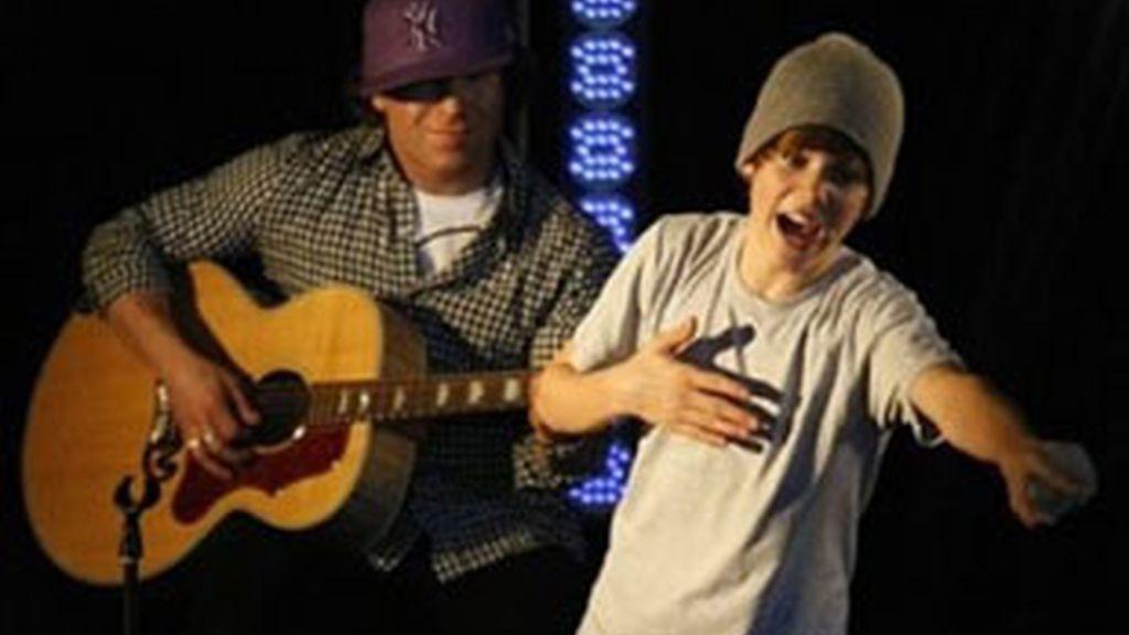 Justin Bieber durante uno de sus últimos conciertos. Foto: AP