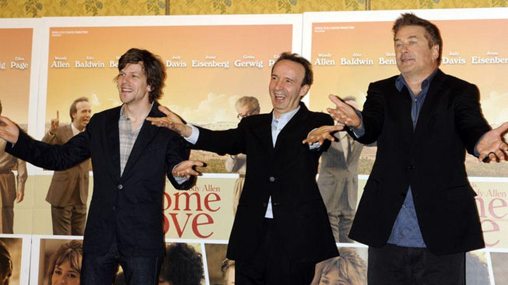 Estreno de 'To Rome With Love' en la capital italiana
