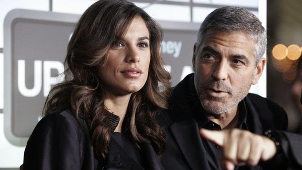 George Clooney, enamorado y de estreno
