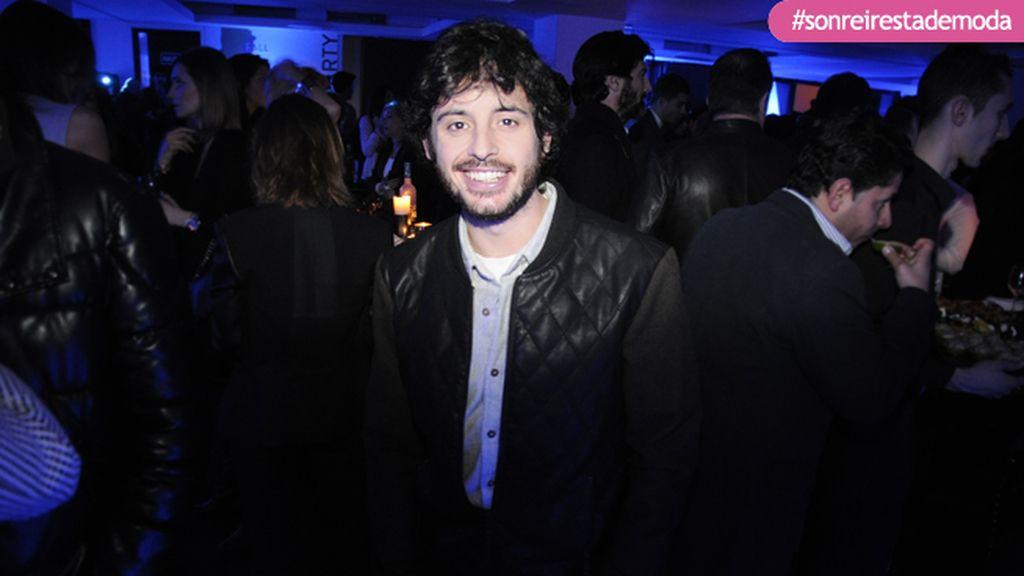 Javier Pereira en una de sus primeras aparaciones tras ganar el Goya al mejor actor revelación