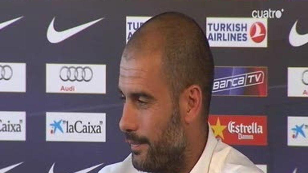 Guardiola: 'No sé si sin Ibra hubiésemos ganado los títulos'
