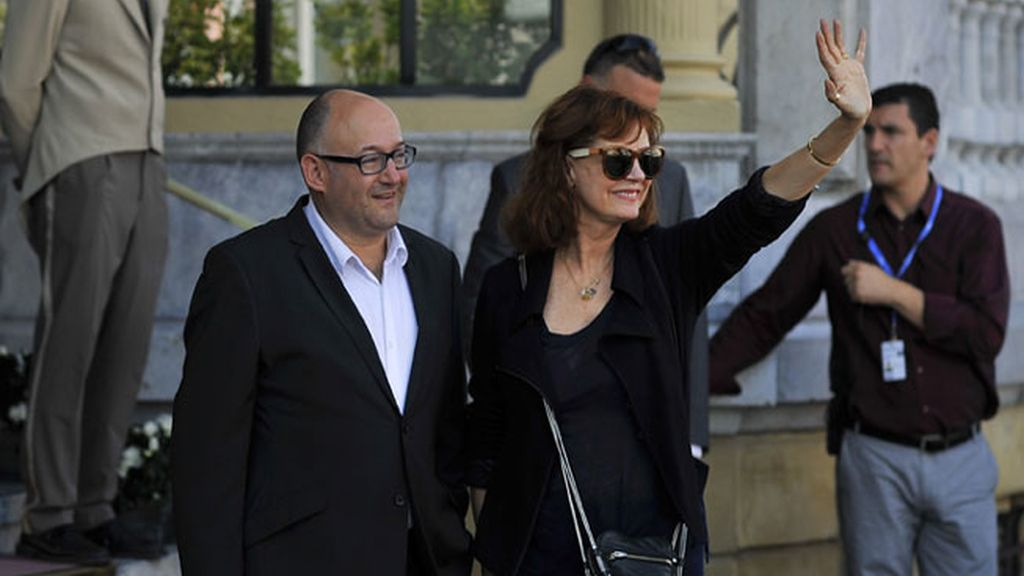 Susan Sarandon llega al Festival de San Sebastian