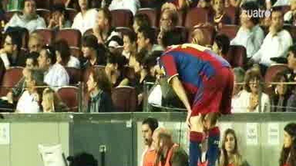 El Barcelona echa de menos a Xavi y a Villa