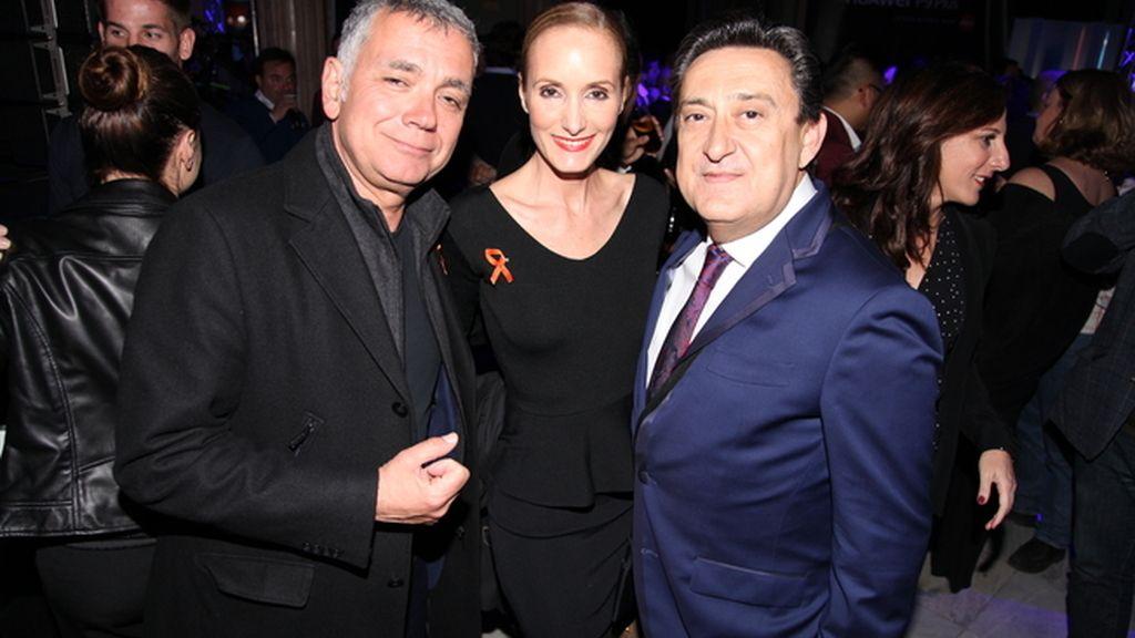 Juan Ramón Lucas, Sandra Ibarra y Mariano Peña