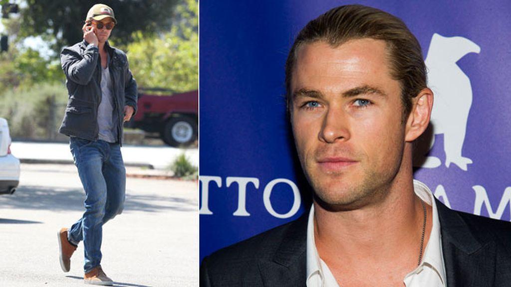 Chris Hemsworth, casual de día y elegante de noche