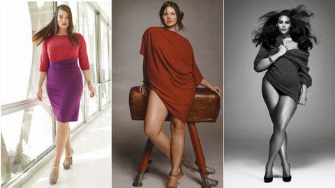 abaef2555 ¿Quién dijo que las marcas de tallas grandes no son estilosas  ¡Luce tus  curvas!