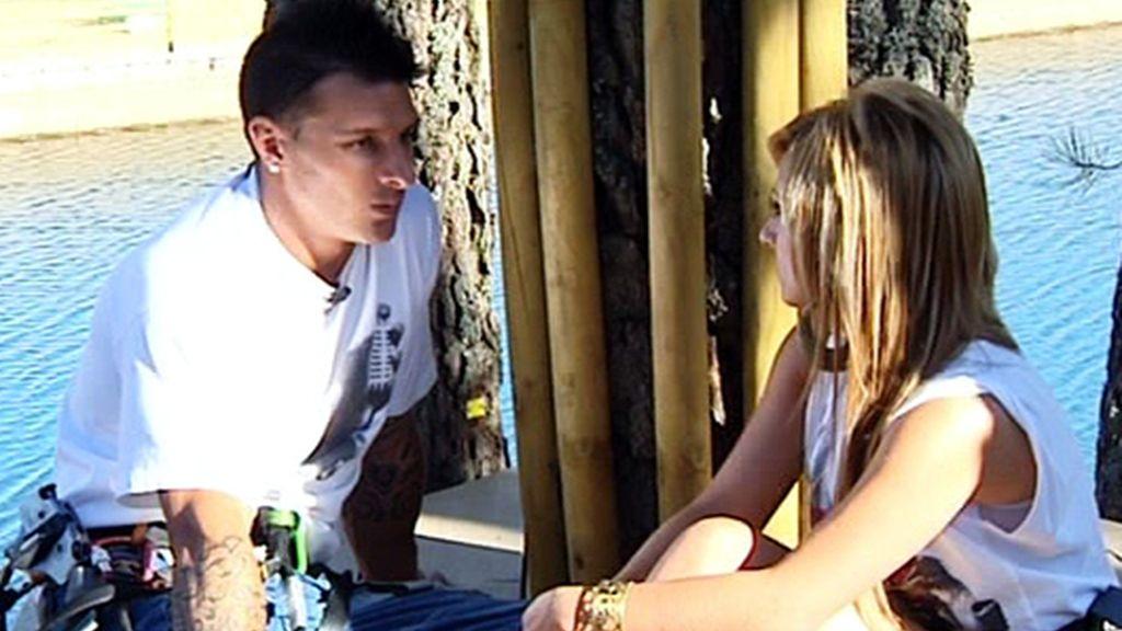 Ferchu y Saray (29/08/11)