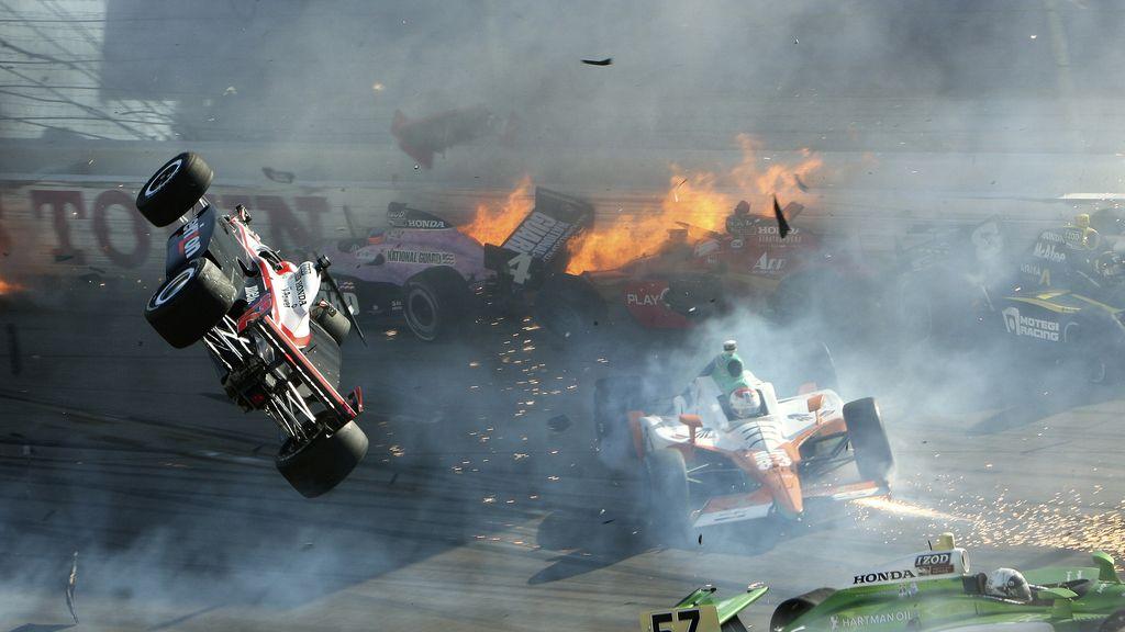 Fallece un piloto en un espectacular accidente en la IndyCar
