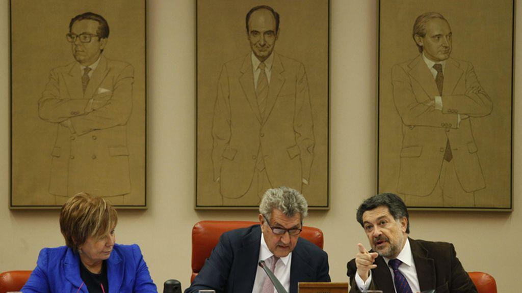Reunión de la Diputación Permanete del Congreso