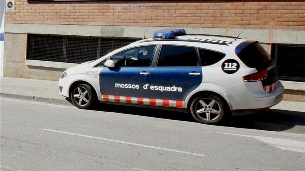 "Vista de un vehículo de la policia autonómica catalana, ""Mossos d'Esquadra"". EFE/Archivo"