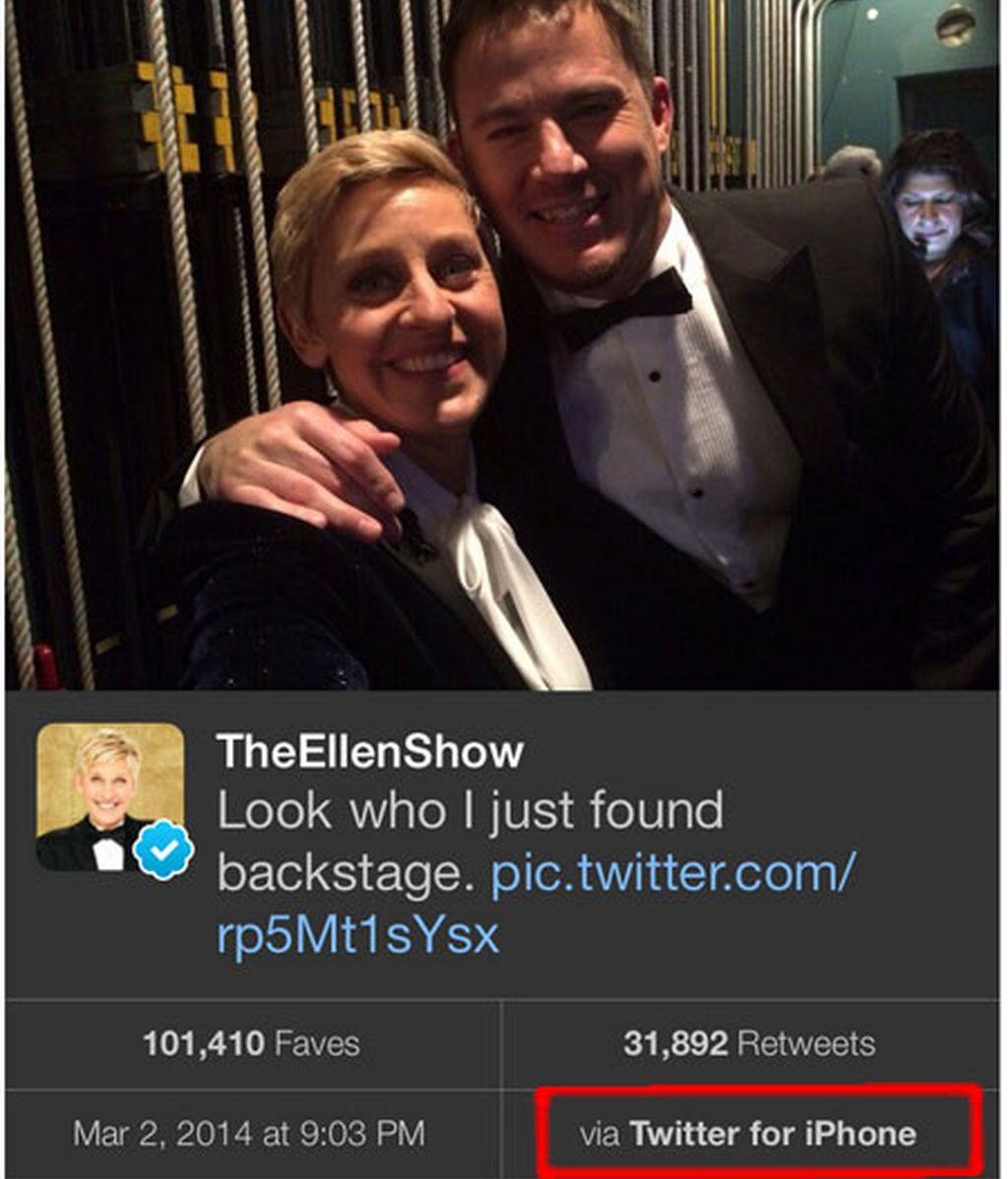 tuit,Twitter,tuitea,Ellen deGeneres,Samsung