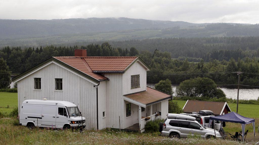 La granja de Âsta donde Breivik organizó los atentados. Foto: Reuters
