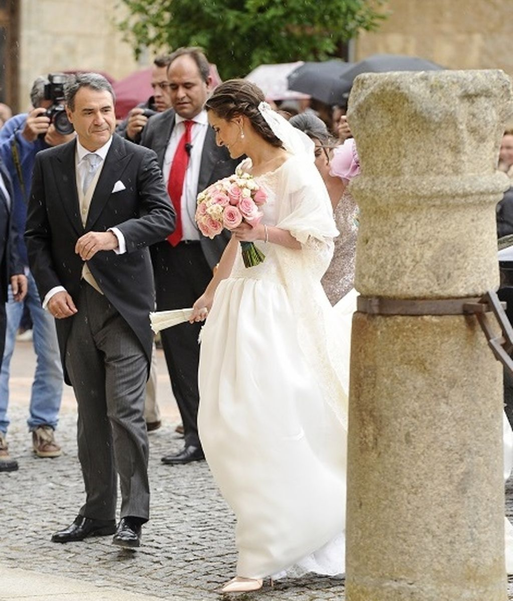 Llegada de la novia a la Catedral de Ciudad Rodrigo