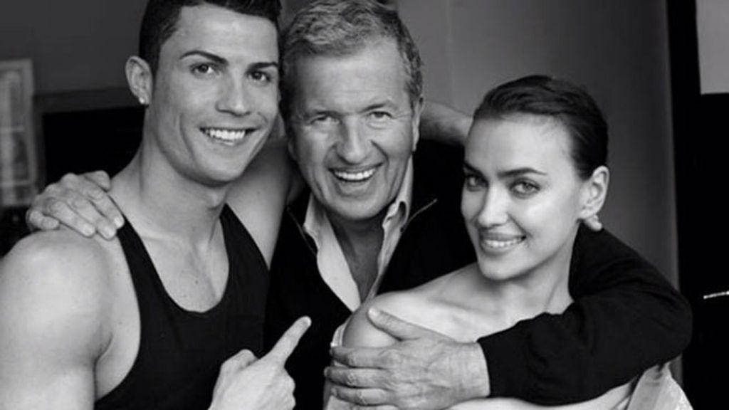 Cuerpos esculturales y mucha química en casa de Ronaldo