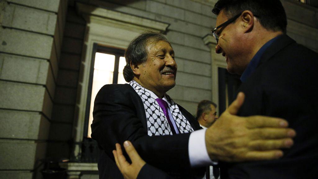 El Congreso pide por unanimidad el reconocimiento del Estado palestino