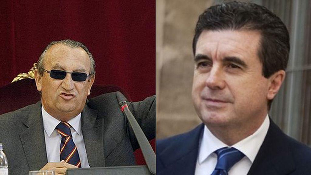 Carlos Fabra y Jaume Matas