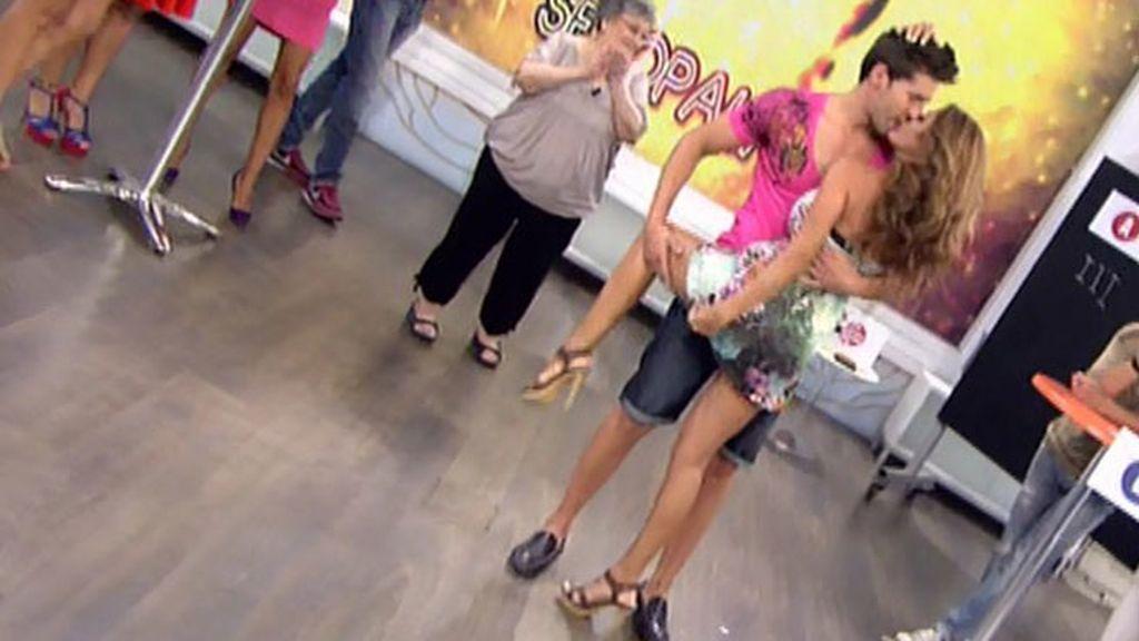 Sonia Monroy le ha dedicado a su chico un baile muy sensual