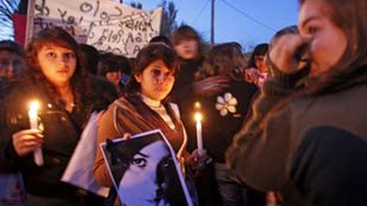 Los compañeros de Maores en una concentración pideiendo justicia en una imagen de archivo