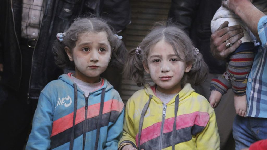 Niños sirios, las principales víctimas del conflicto