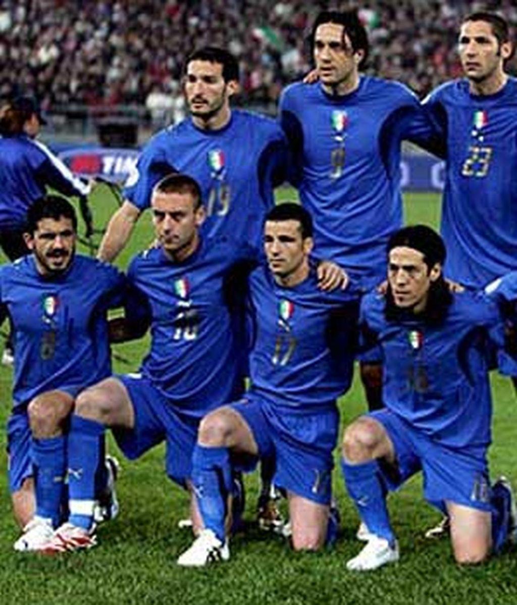 Italia, favorita al título.