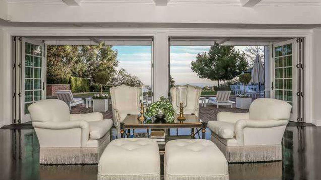 El salón de Mariah Carey transmite serenidad