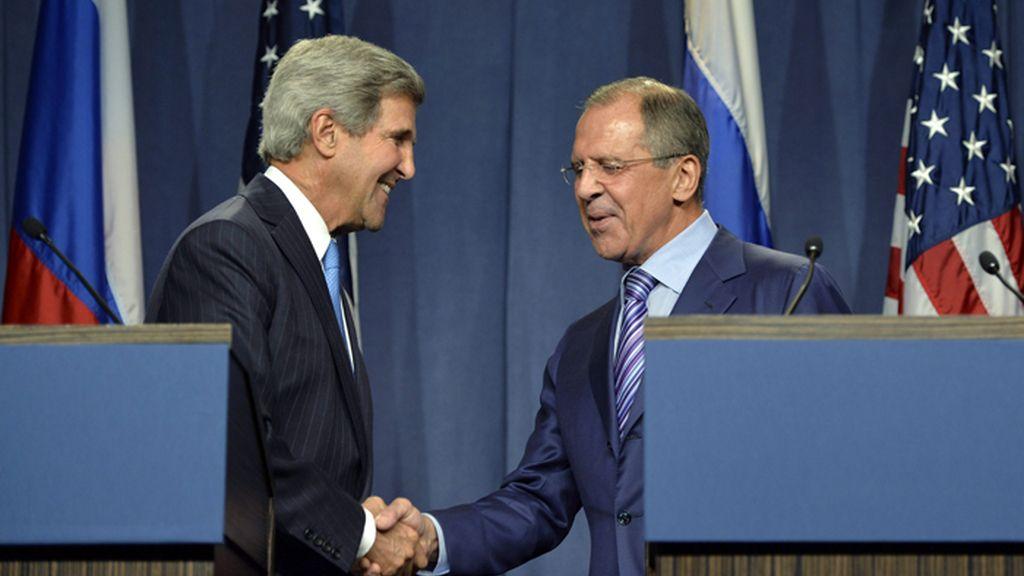 Lavrov y Kerry debaten en Ginebra sobre el futuro de Siria