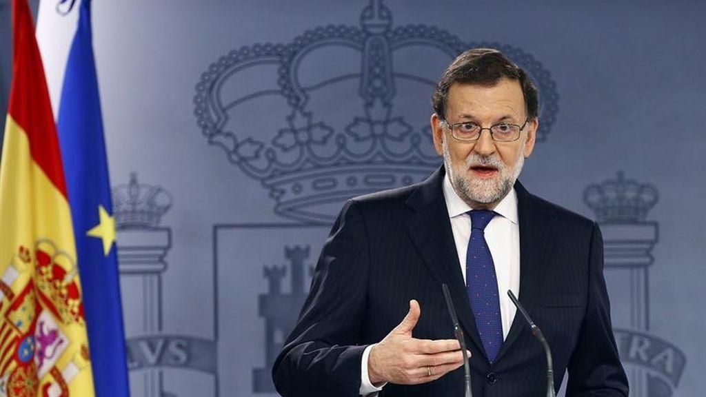 Rajoy dice que el rey no le ofreció formar Gobierno