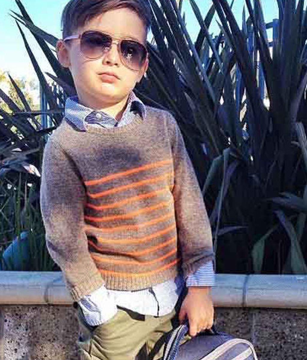 Alonso Mateo, un icono de estilo en Instagram con tan sólo 5 años