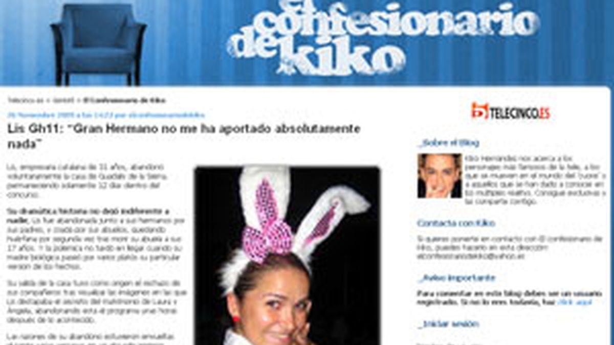 Kiko Hernández agradece el honor en directo. Vídeo: Telecinco