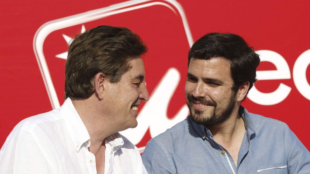 Mitin de Alberto Garzón en Madrid