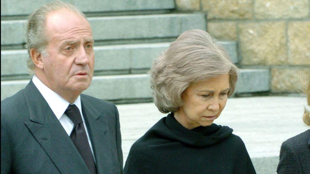 Funeral por los atentandos del 11M en 2004