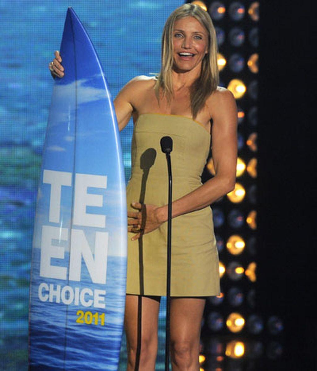 Cameron Diaz, mejor actriz de comedia