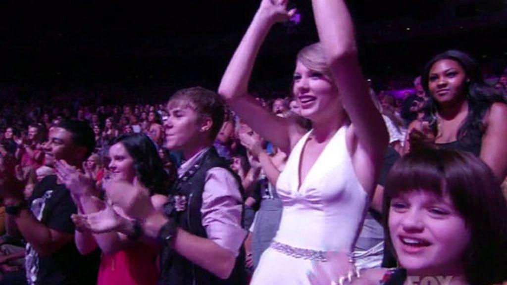 Taylor Swift y Justin Bieber
