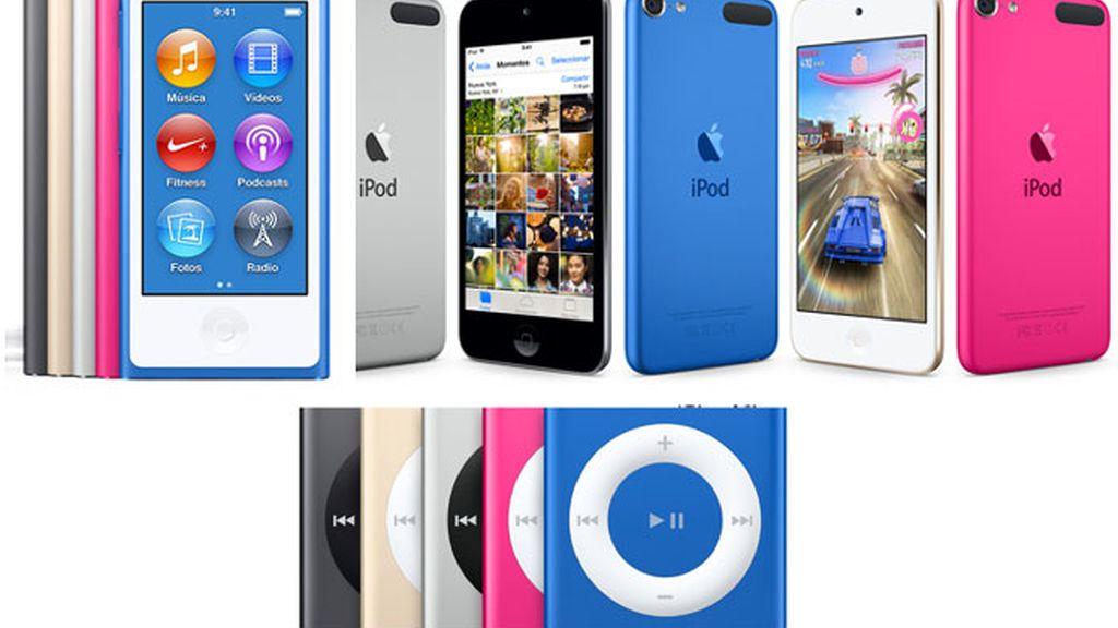 Apple renueva su gama de dispositivos iPod