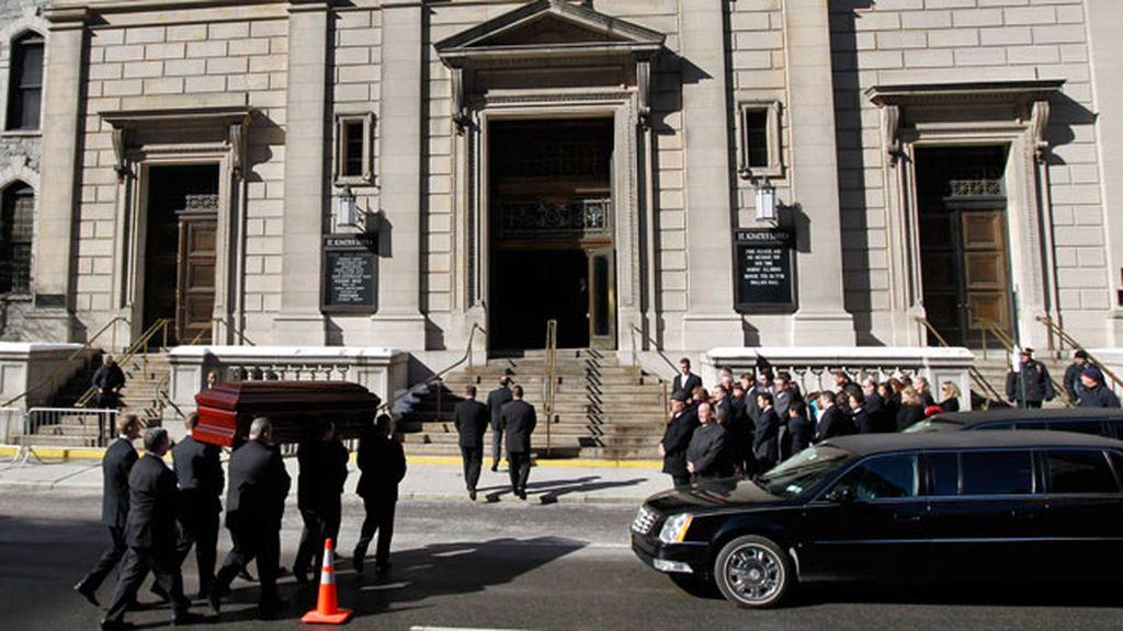 Funeral en la iglesia San Ignacio de Loyola de Nueva York.
