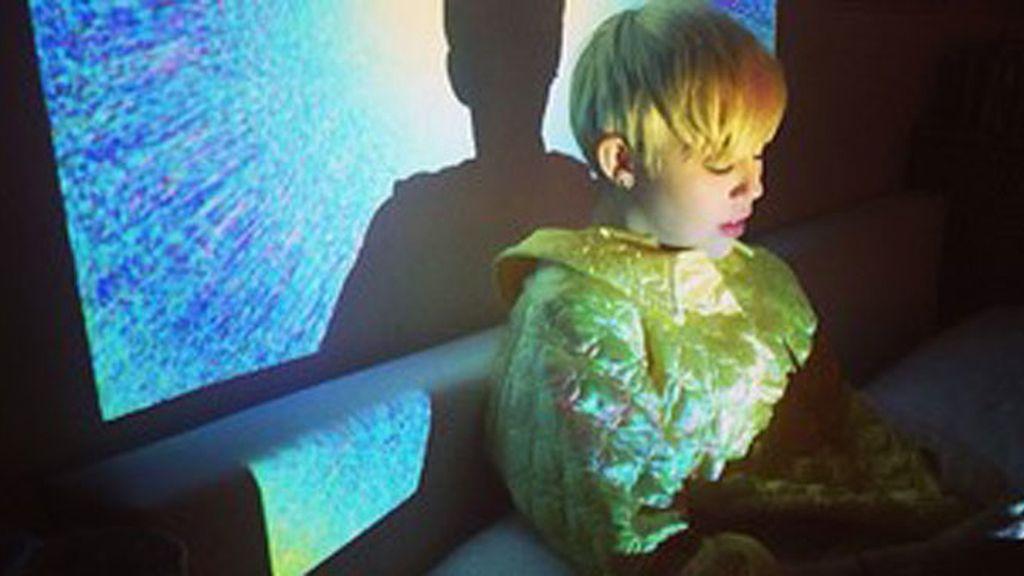 Miley Cyrus durante su reposo