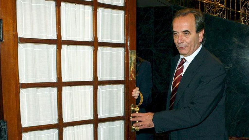 El portavoz parlamentario socialista, José Antonio Alonso. EFE/Archivo
